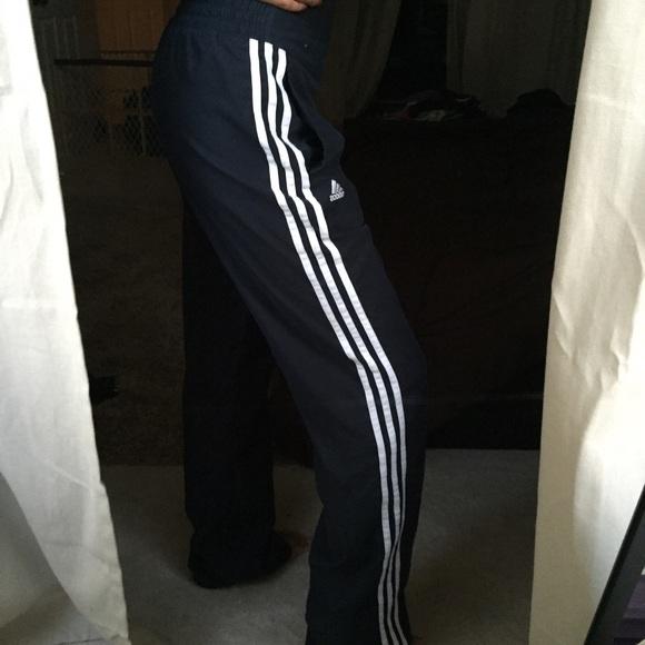 Adidas pantalones hoy sólo poshmark cortaviento negro suave