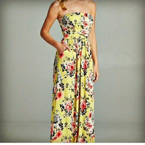 bba4a92e69d Floral summer maxi dress