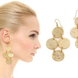 SALE ⚡️⚡️//Kenneth Lane Coin earrings