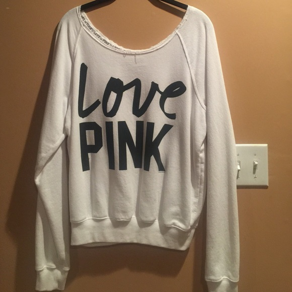 776d6a80d27 Victoria's Secret PINK Tops | Victorias Secret Pink Off The Shoulder ...
