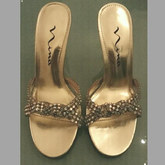 de1688052 Nina crystal rhinestone gold leather open peep 6.5.  M_56c93fc19c6fcf8f220152e9