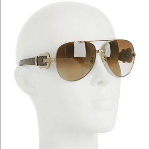 🆕 Fendi Aviator Sunglasses With Buckle