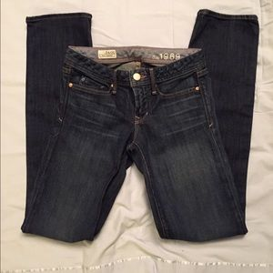 Gap Real Straight Jeans - Size 24/00