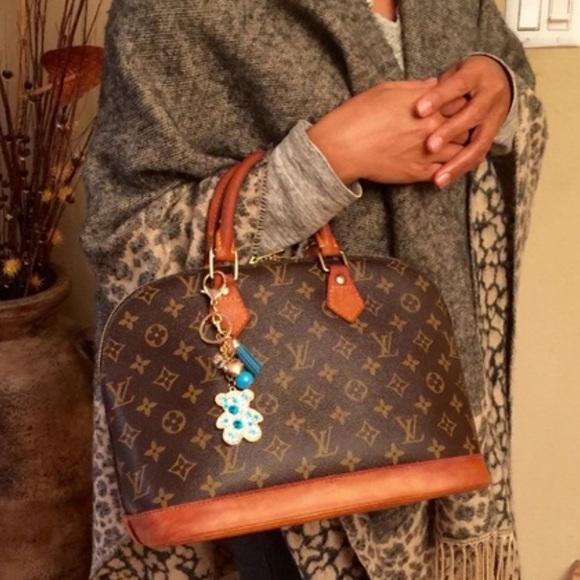 Louis Vuitton Handbags - 💯% AUTH LV VINTAGE ALMA PM HAND TOTE BAG c9e18b3800ae4