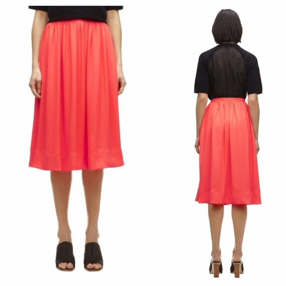 fd341d400b Whistles Skirts | New Uk Coral Midi Skirt Sz 6 | Poshmark