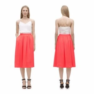 casual shoes the latest 100% top quality Whistles Skirts | New Uk Coral Midi Skirt Sz 6 | Poshmark