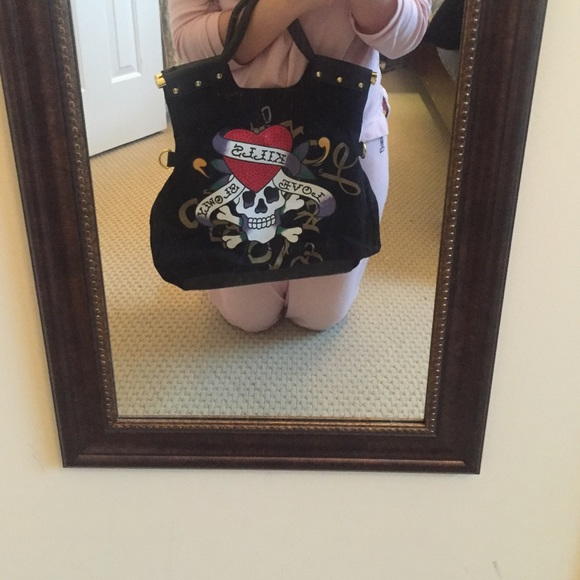 70% off Ed Hardy Handbags - Excellent Condition Ed Hardy