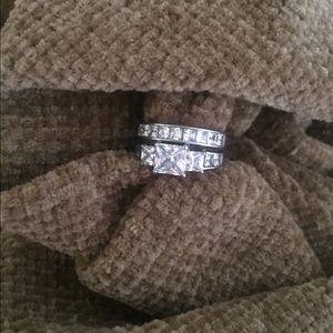 Jewelry - CZ WEDDING SET