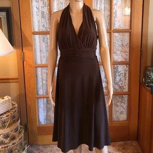 GiGi New York Dresses & Skirts - 💗Just In💗Beautiful Brown Halter Dress