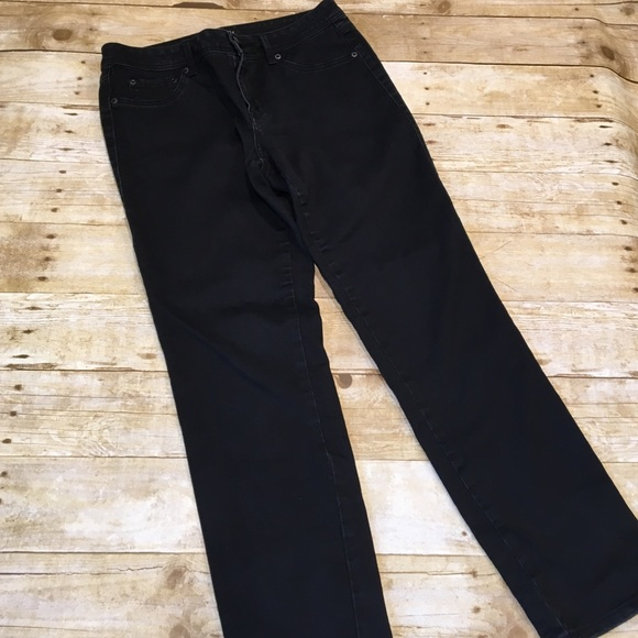 9816a8df6fe Dress Barn Denim - 🛍 Roz & Ali jeans size 10s (petite) straight leg