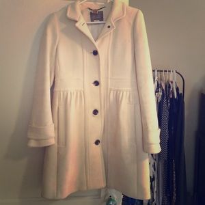 STUNNING JCREW Double-cloth day coat