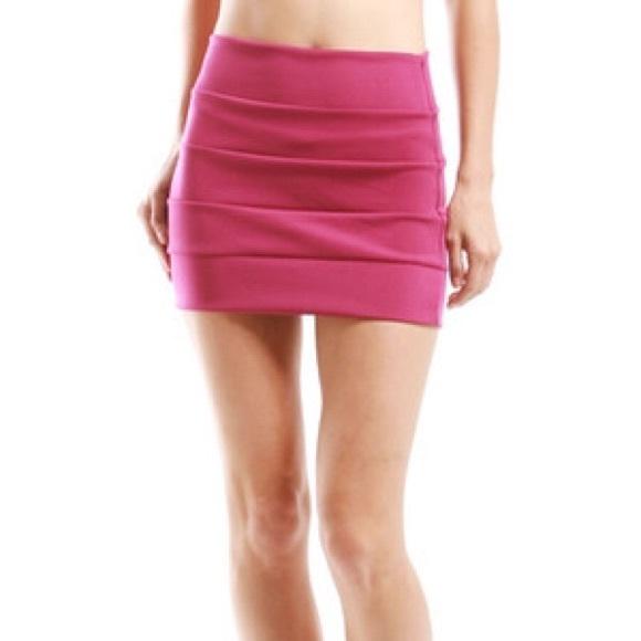 a'gaci - Pink Mini Skirt from Agaci from Jenny's closet on Poshmark