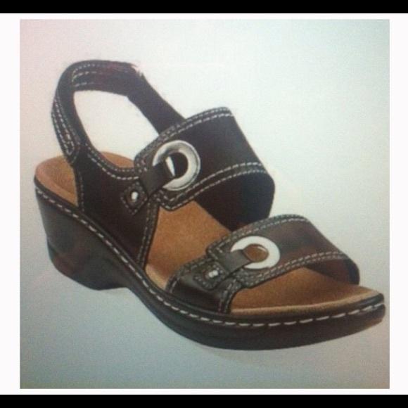 530e4195f987 Clarks Shoes - Clark s black Lexi Birch Sandals