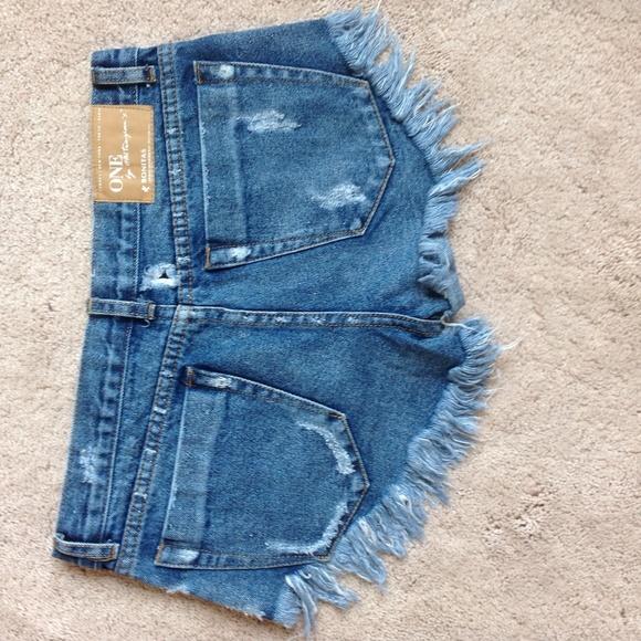 One Teaspoon Shorts - One Teaspoon Bonita Shorts Size 25