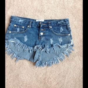One Teaspoon Shorts - One Teaspoon Bonita Shorts Size 25