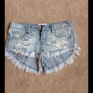 One Teaspoon Shorts - One Teaspoon Shorts