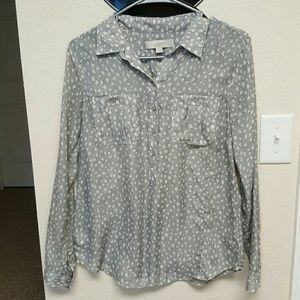 Loft Button up blouse