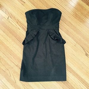 J. Crew Dresses & Skirts - J. Crew little black Ruffle Dress