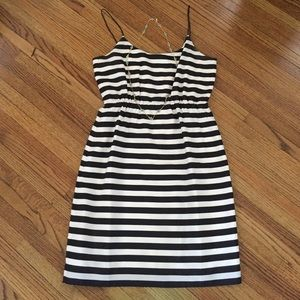 J. Crew Dresses & Skirts - J.Crew Black and White Striped Dress