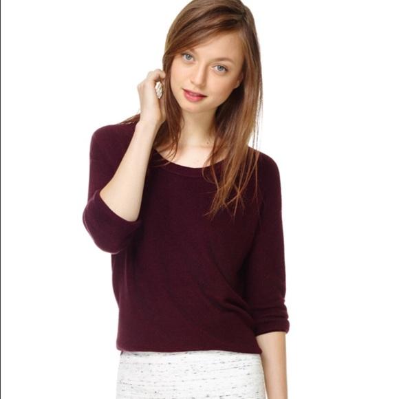 8542d26f4046b1 Aritzia Sweaters | Wilfred Blue Balzac Sweater | Poshmark