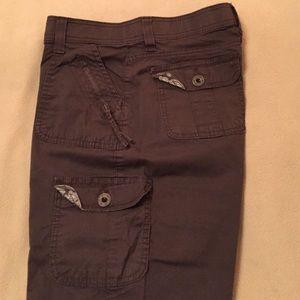 65% off Lee Pants - Lee brand chocolate brown Capri pants from ...
