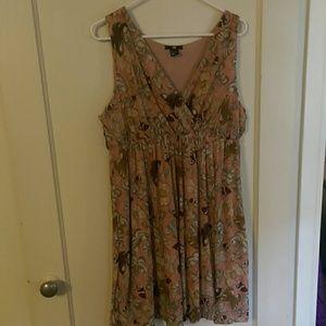 H&M butterfly dress. Sz L