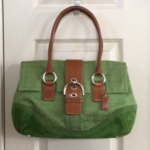 Coach Handbags - Coach bag with matching wallet
