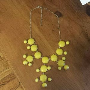 Baublebar Yellow Statement Necklace