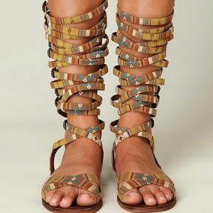 Jeffrey Campbell Shoes - Last call! {jc} romana fest gladiators