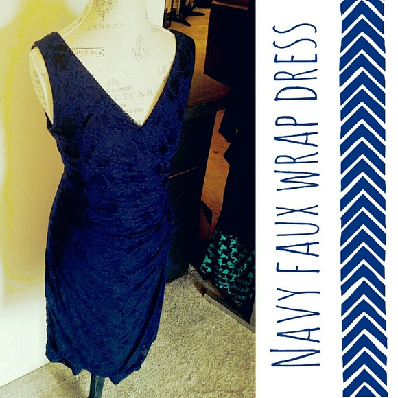 American Living Dresses - 💗 Navy Fitted Dress