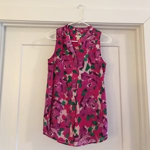 J. crew flowy and loose tank. Size 00
