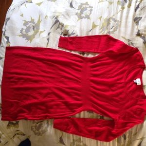 Old Navy Red Sweater Dress
