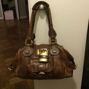 Chloe paddington lock satchel