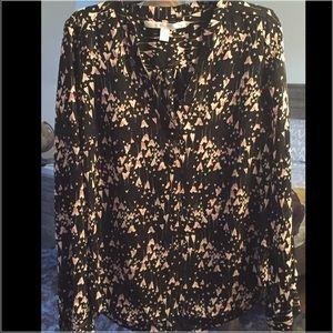 Lauren Conrad heart blouse