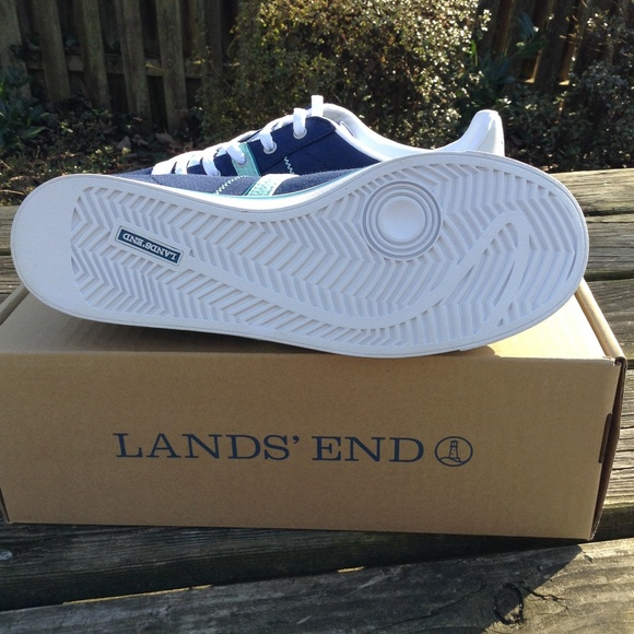58 lands end shoes canvas sneakers from sam s