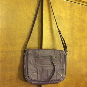 NWOT Steve Madden purple messenger bag! 