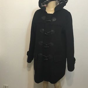 Burberry finsdale wool coat