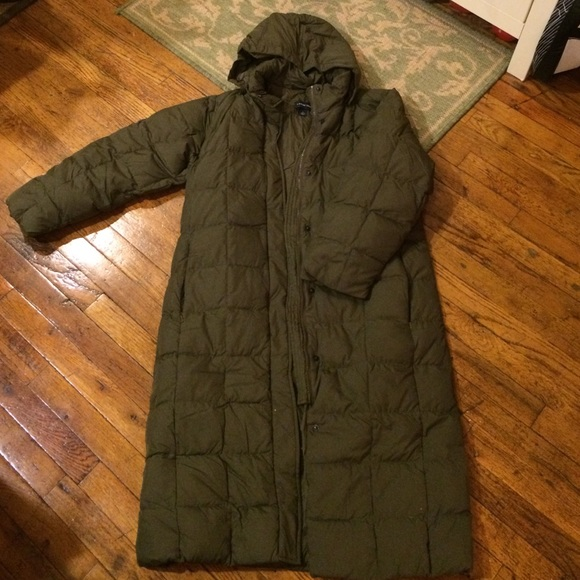 nice shoes 60% clearance best site Lands' End long down coat