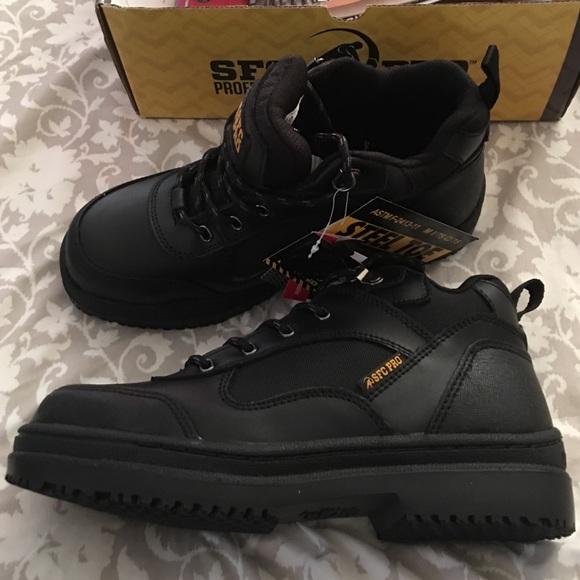 sfc pro steel toe boots