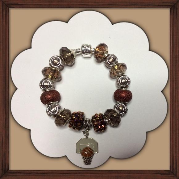 Basketball Charm Bracelet: My First Pandora Charm Bracelet