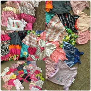 Dresses & Skirts - Lot 6-9 month girl clothes huge bundle