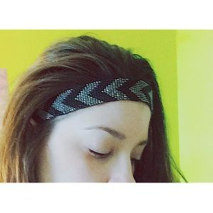 Beaded head-wrap