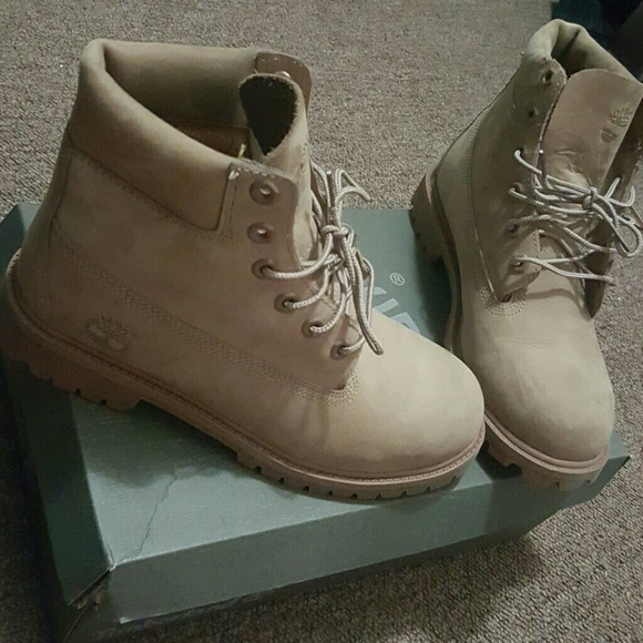All Nude Timberlands size 6.5