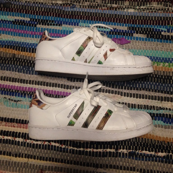 Cheap Adidas Superstar 80s Chalk White Copper Hers trainers Office Shoes