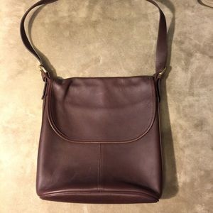 SALELarge Leather Coach Bag