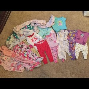 Other - Huge lot of toddler girl sleepers! 19 total