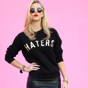 """Haters"" sweatshirt"