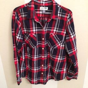 Old Navy Tops - Old Navy Plaid Shirt