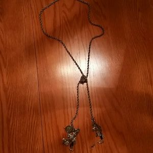 Lucky Brand necklace with blue stones