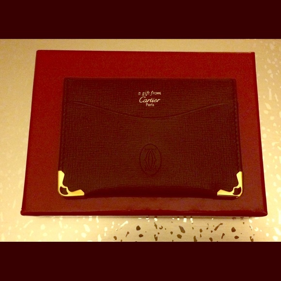 Cartier accessories authentic business card holder poshmark authentic cartier business card holder reheart Image collections